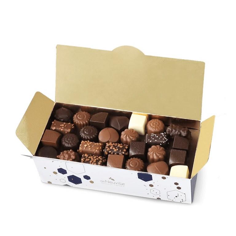 Ballotin 80 chocolats assortis