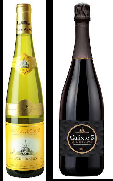 Coffret 2 bouteilles blancs <br><b>Région d'Alsace : mis en bouteille à la Propriété</b>