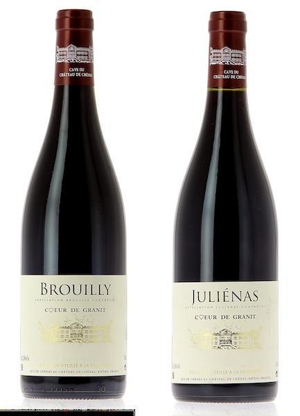 Coffret 2 bouteilles rouges <br><b>Région du Beaujolais : mis en bouteille à la Propriété</b>