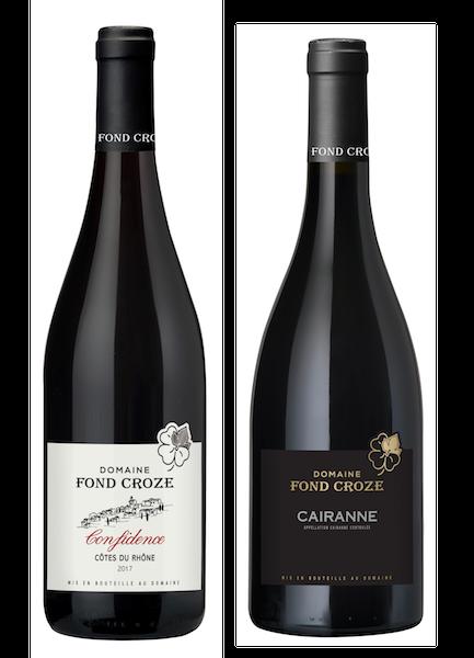 Coffret 2 bouteilles rouges<br><b> Vins biologiques médaillés d'or</b>