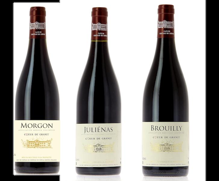 Coffret 3 bouteilles rouges <br><b>Région du Beaujolais : mis en bouteille à la Propriété</b>