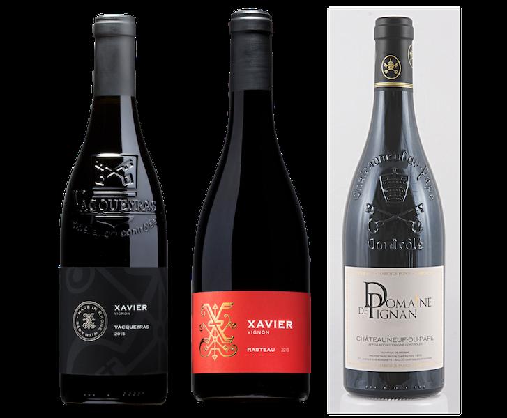 Coffret 3 bouteilles rouges<br><b> Région des Côtes du Rhônes</b>