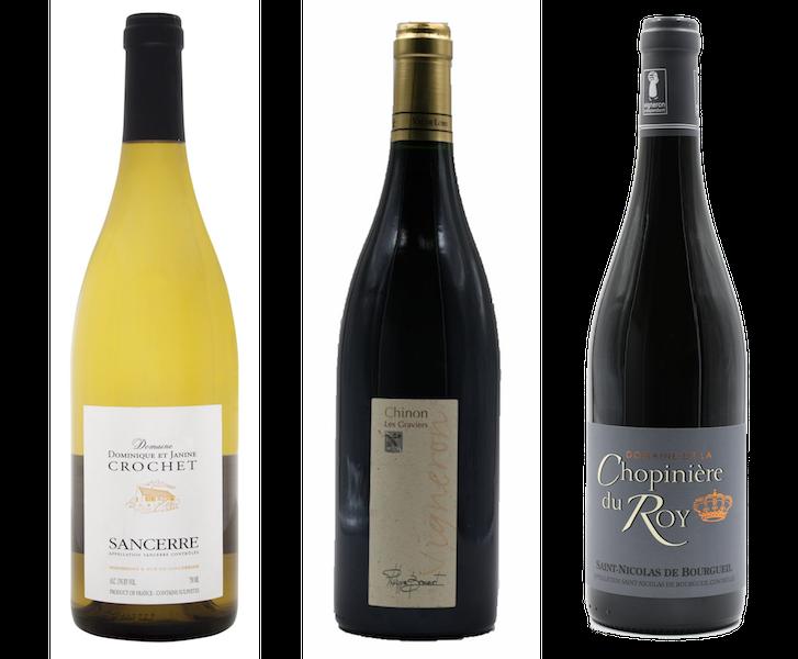 Coffret 3 bouteilles rouges et blanc<br><b>Région de la Loire : mis en bouteille à la Propriété</b>