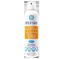 Solution hydro-alcoolique pour l'antisepsie des mains 200ml (formule recommandée par l'OMS)