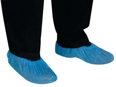 Couvre-chaussure visiteur polyéthylène
