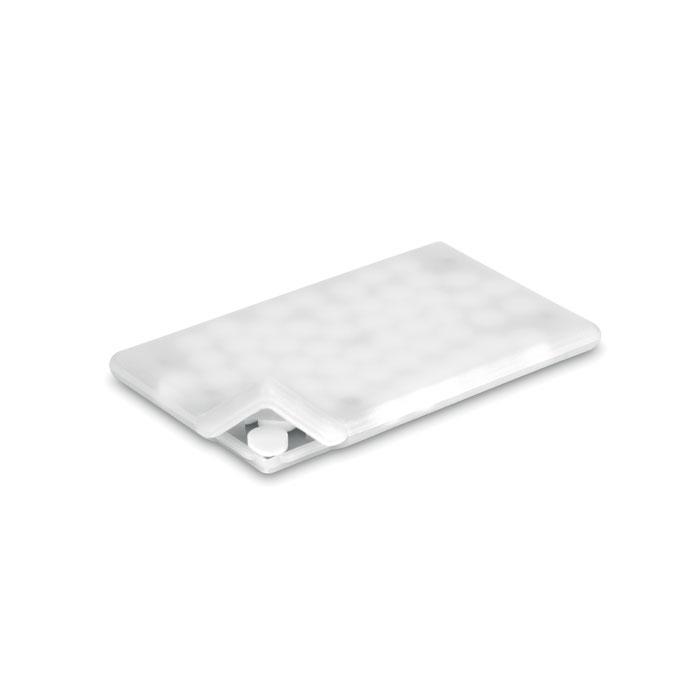 Distributeur de bonbon ( 6g ) menthe carte de crédit