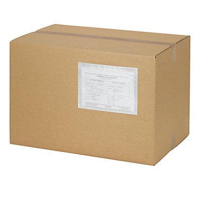 Pochette porte-documents en papier transparente