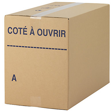 Caisse picking type REDOUTE® en double cannelure