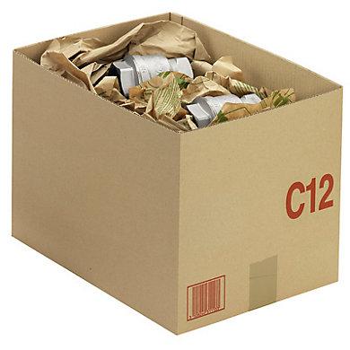 Caisse carton palettisable C avec couvercle