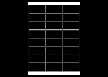 <b>Etiquettes adhésives</b> en planches