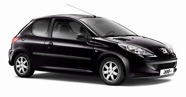 Catégorie 8 - Economique commecial 3 portes : Peugeot 206 Affaire, Citroen C3 Entreprise